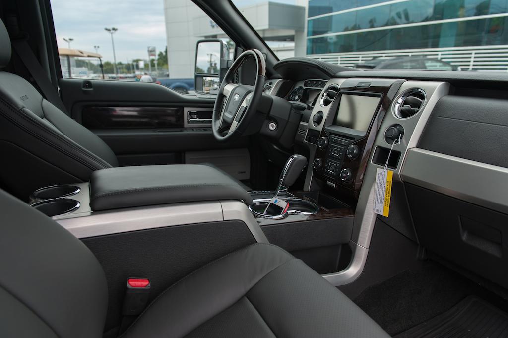 2013 Ford F 150 Platinum EcoBoost Interior