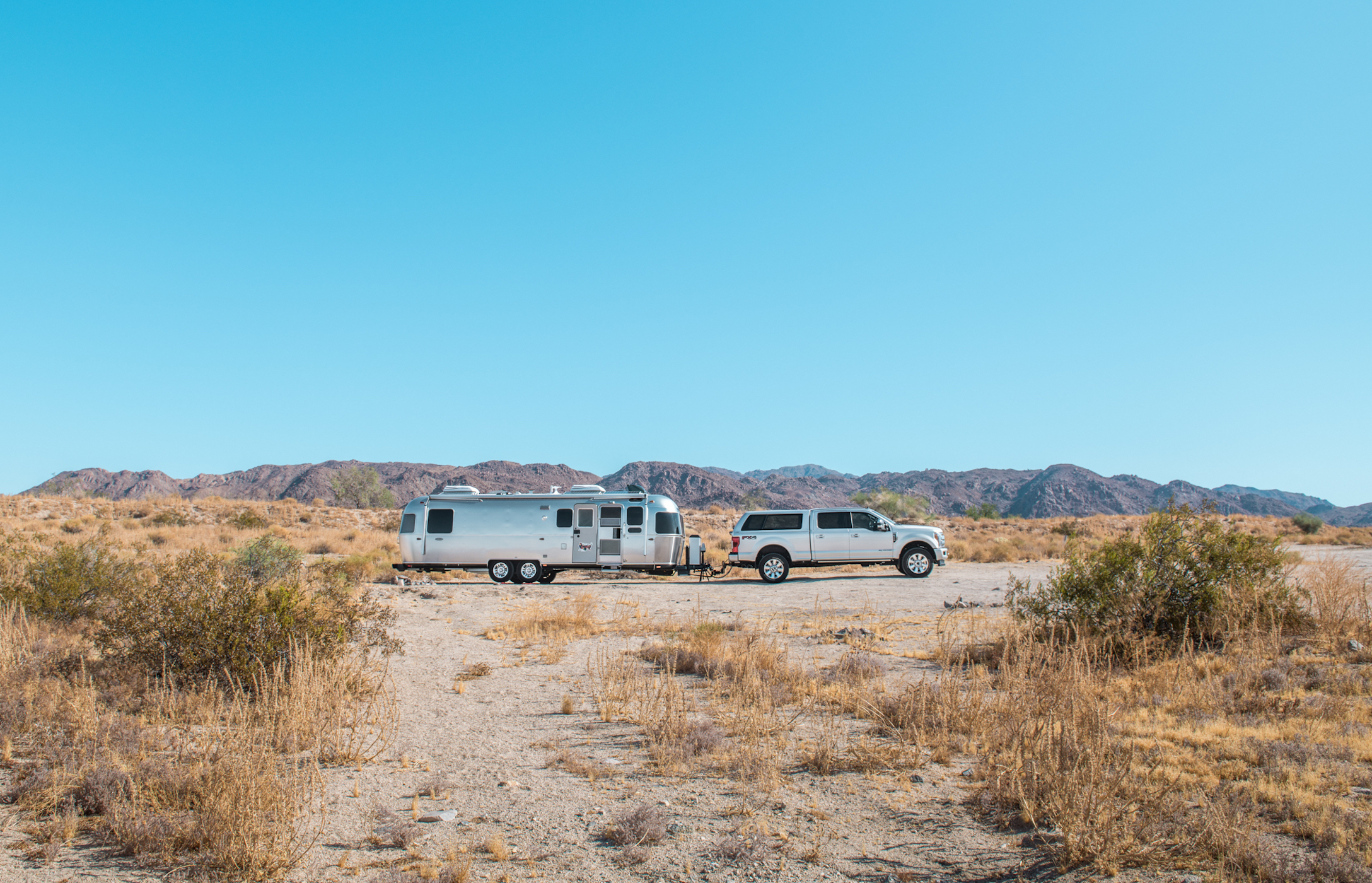 Boondocking at Joshua Tree National Park