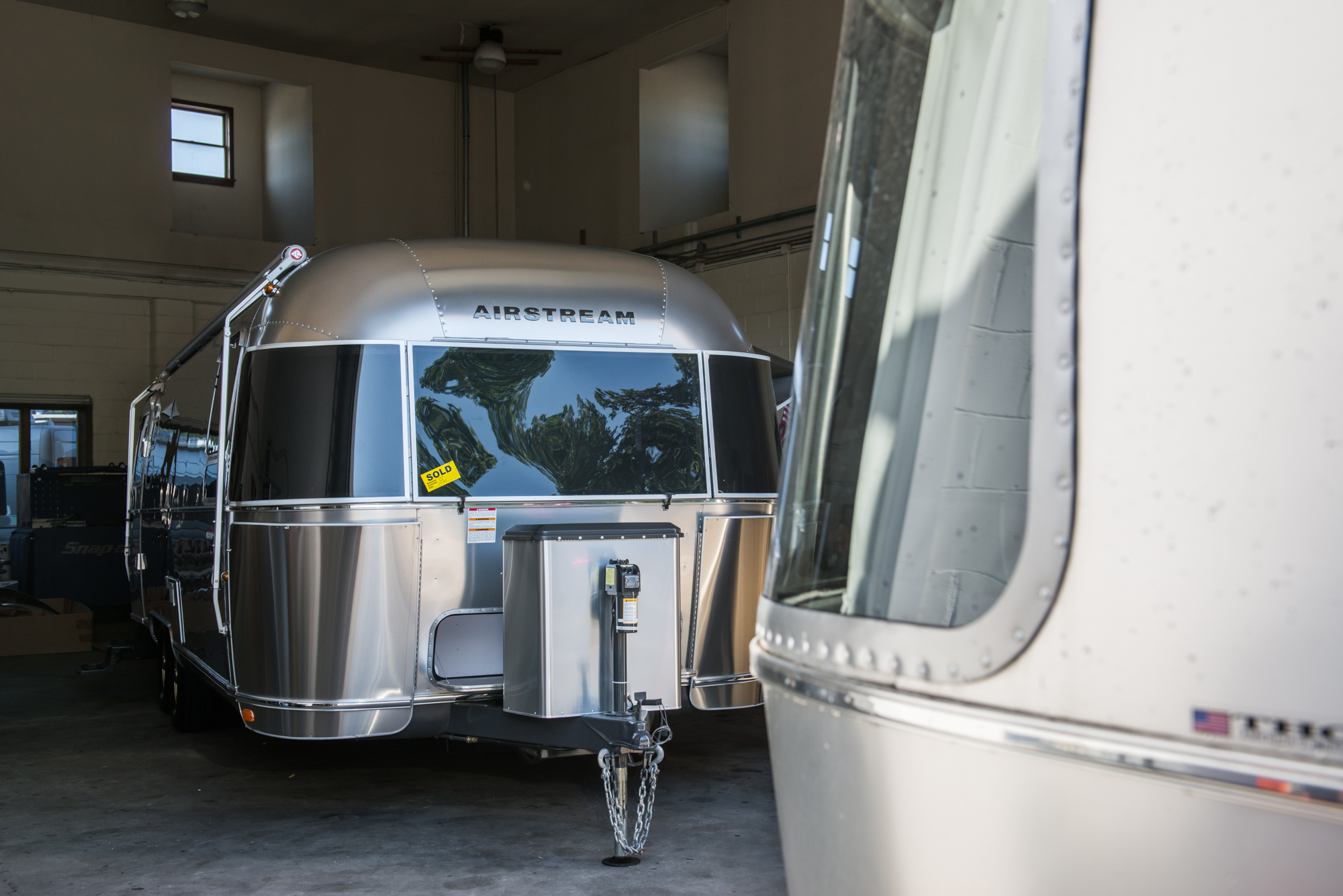 Flying Cloud meets International Signature at Colonial Airstream