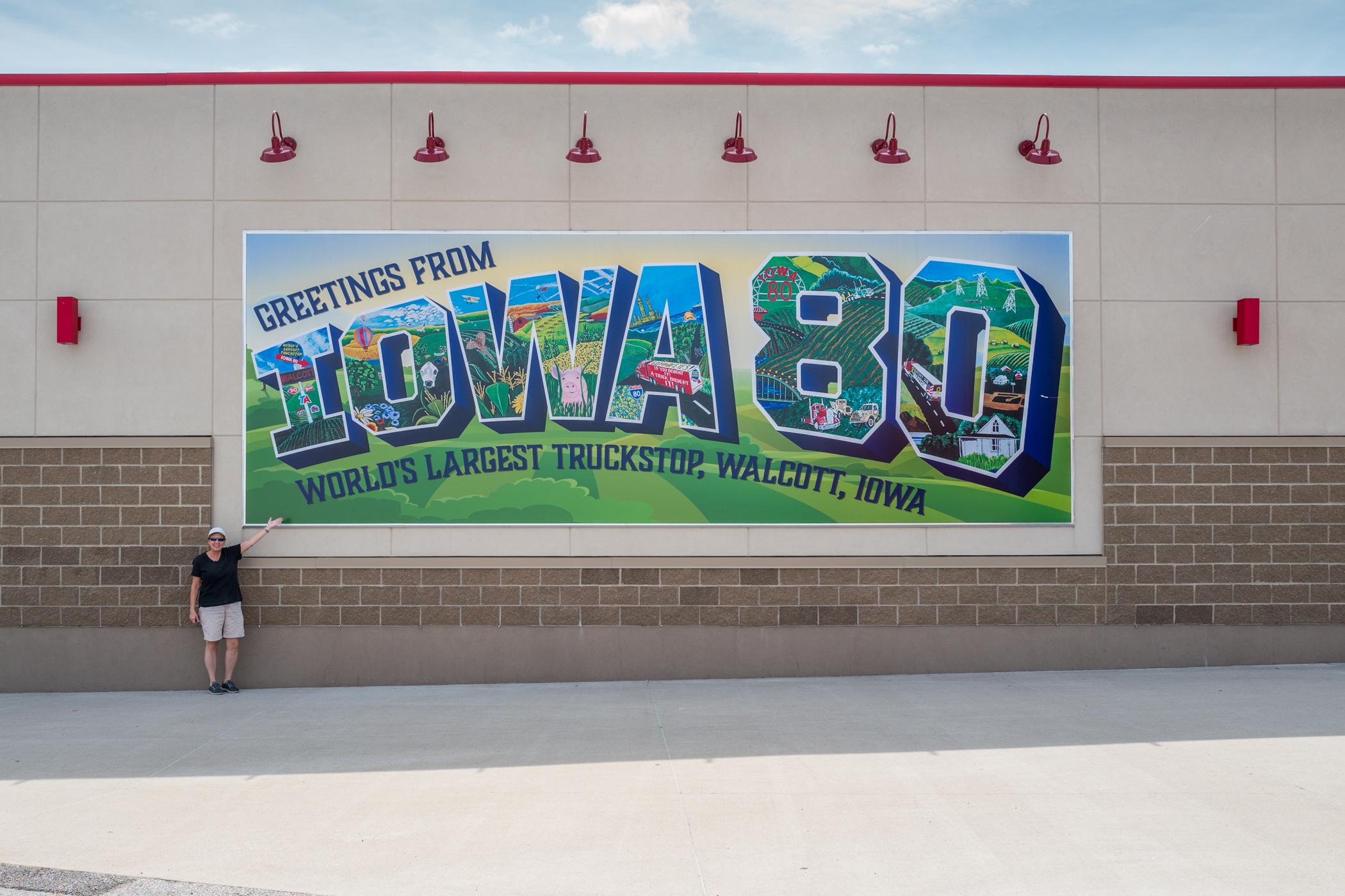 Greetings from Iowa 80