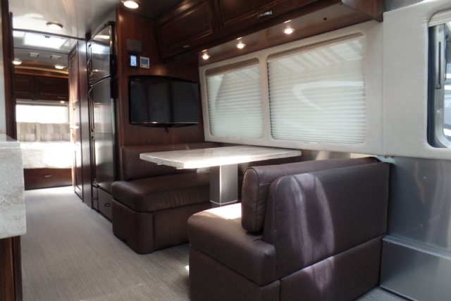 2017 Airstream Classic 30J dining area