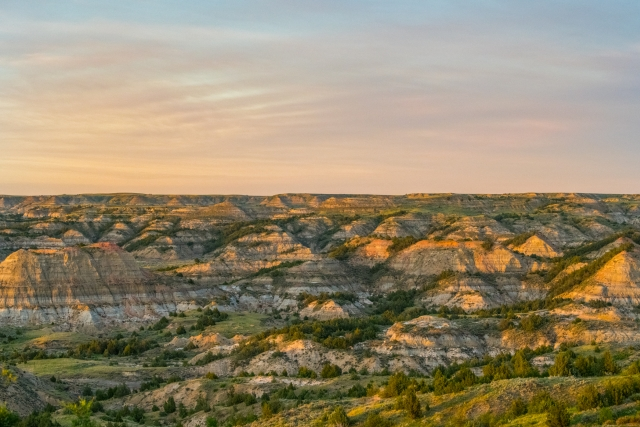 The many colors of the Badlands National Park