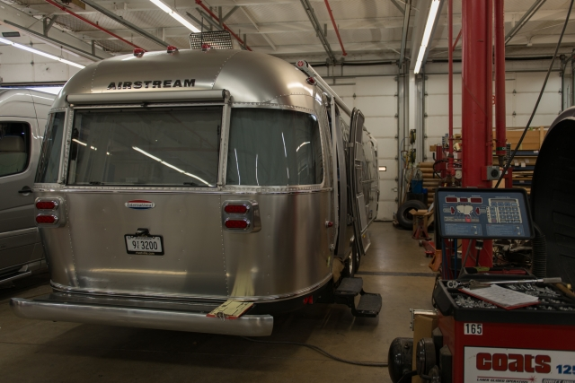 Airstream factory service center