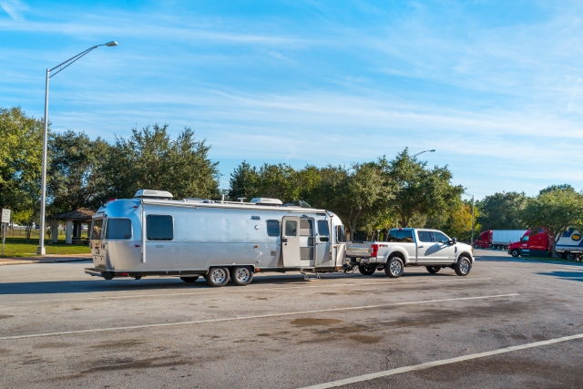 2019 Ford F-350 Platinum and Airstream Classic 30 in sunny Florida