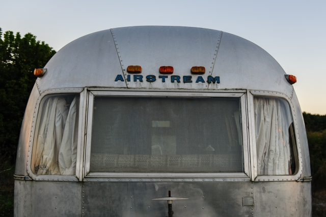 Vintage Airstream found near Wytheville, Virginia