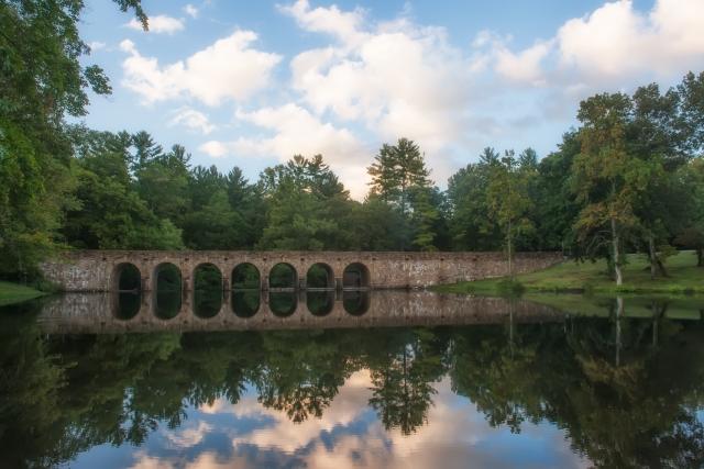 The bridge in Cumberland Mountain State Park