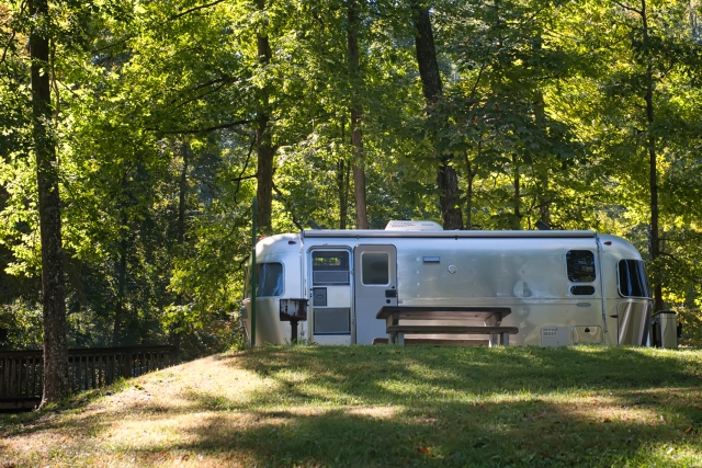Cumberland Mountain State Park Campsite