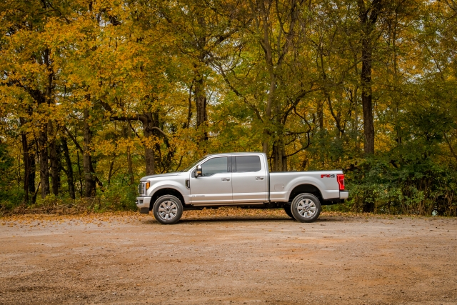 2019 Ford F-350 Platinum 6.7L on delivery day