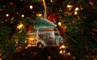 Airstream Christmas Tree Ornament