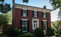 One of the historic homes in Abingdon, Virginia