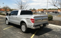 Hard Painted Tonneau Cover by UnderCover - Ingot Silver Metallic
