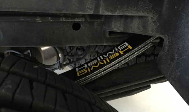 Hellwig 61902 Pro-Series Helper Spring with Silent Feature installed on F-150