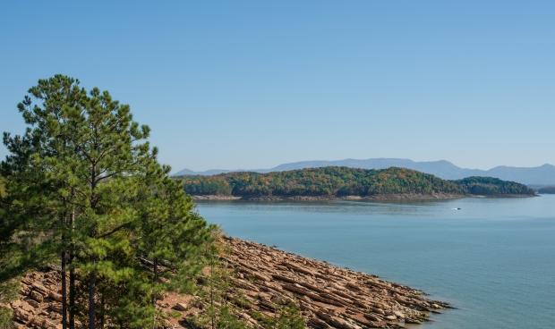 Douglas Lake and The Great Smoky Mountains