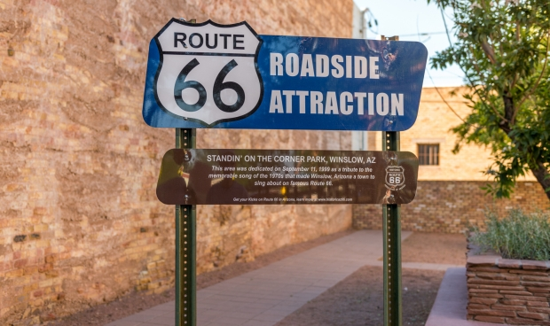 Route 66 roadside attraction dedication
