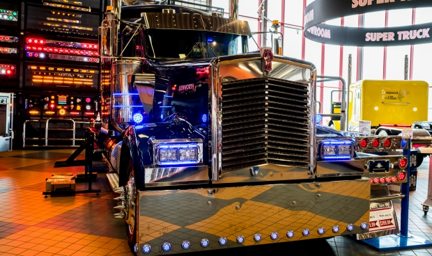 Iowa 80 trucking display