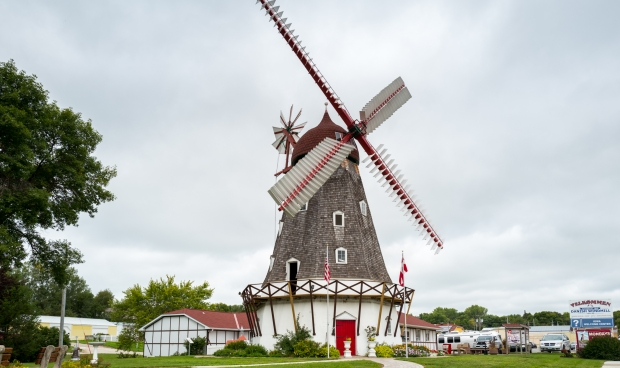 The only authentic working Danish windmill in America