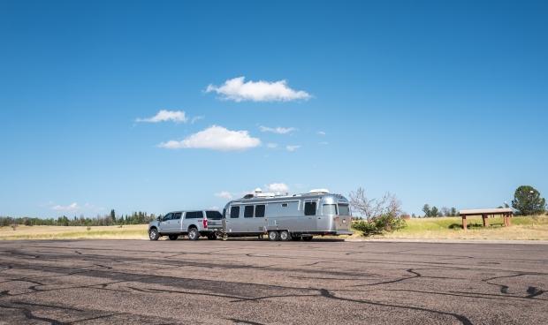 Taking a break in Wyoming