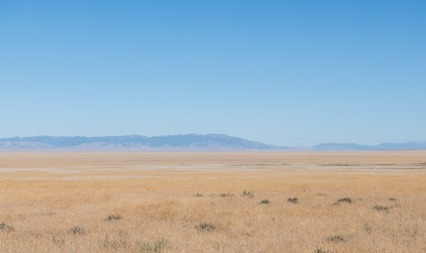 View along the Loneliest Road in America