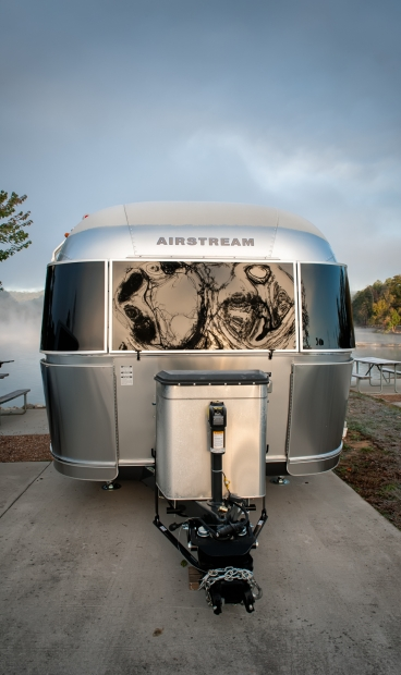A cold Airstream with a warm heart.