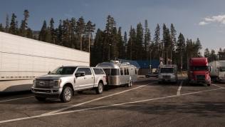 Donner Pass Rest Area on I-80