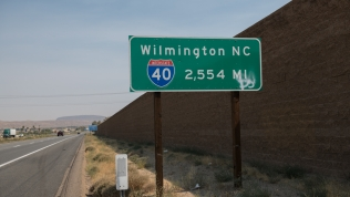 Western end of I-40