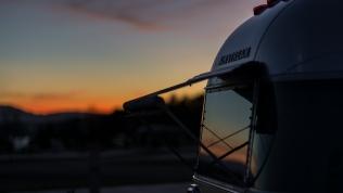 Sunset at Anchor Down RV Resort