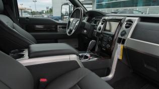 2013 Ford F-150 Platinum EcoBoost interior