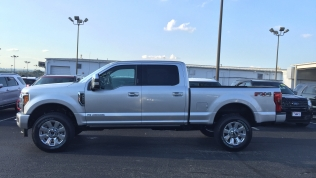 2019 Ford F-350 Platinum 6.7L in Ingot Silver Metallic