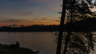 Sundown on Watts Bar Lake