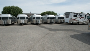Airstreams waiting on owners!