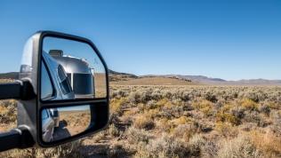 Scenery along the Loneliest Road in America