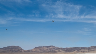 Military helicopters over Sand Mountain