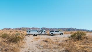 Boondocking at Joshua Tree National Park