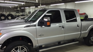 2016 Ford F-350 Platinum with 35% window tint