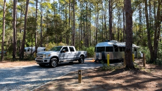An Airstream or two at Carolina Beach State Park