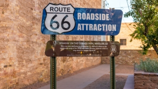 Route 66 roadside attraction dedication