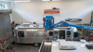 6-100 watt solar panel installation at AM Solar