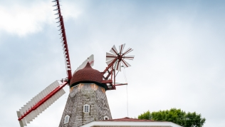 The only working Danish windmill in America