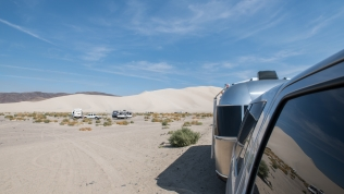 RV parking area at Sand Mountain