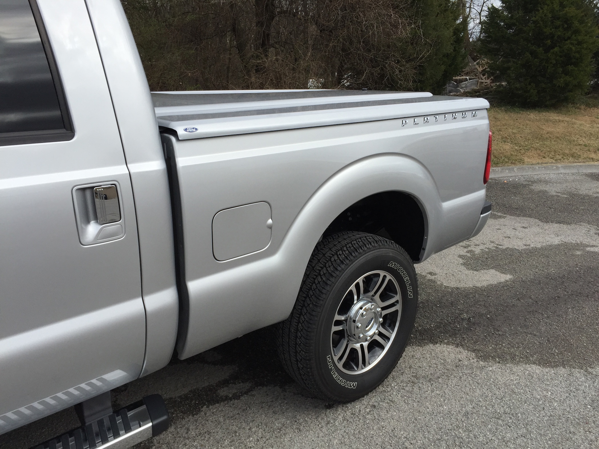 Tonneau Cover by UnderCover on 2016 F-350 Platinum